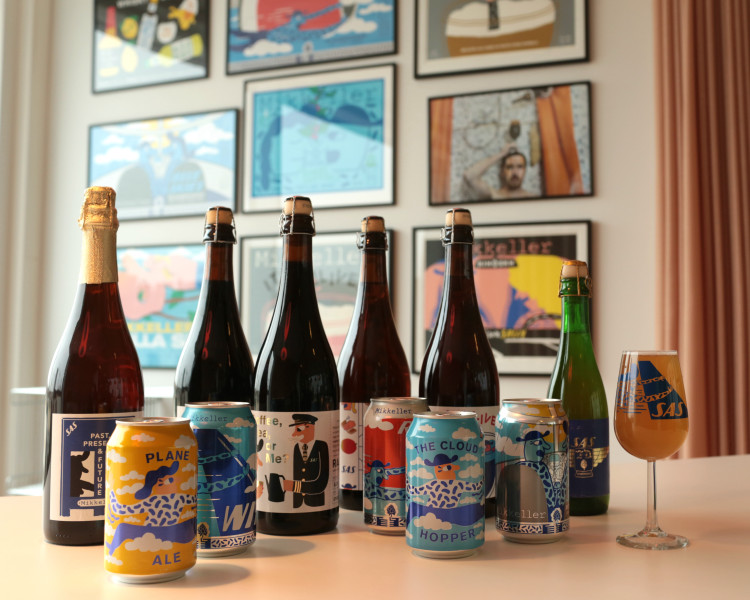 Beers brewed exclusively for SAS by Mikkeller